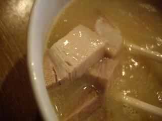 中華そば桃李 鶏白湯つけ大(豚)