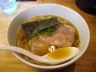 麺処ちゃ木 らーめん(醤油)