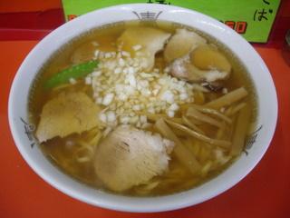 手打ち式中華のカトウ チャーシュー麺 大