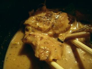 スパイスラーメン 橙 オレンジ スパイス・つけめん 冷スープ(鶏肉)