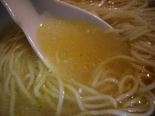 Menya Ishinn麺や維新 塩らぁ麺(スープ)