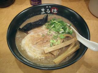 麺処まるは 健松丸 とんこつラーメン