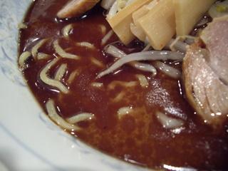 爐 醤油らーめん(焦がしラードスープ)