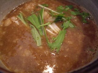 麺屋ジャイアン 煮干し(つけ汁)