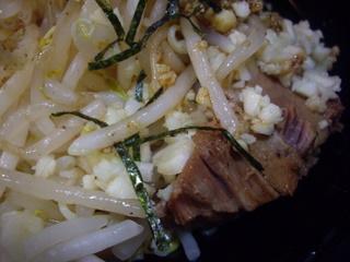 自家製麺キリンジ 汁無大(豚)