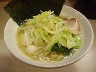 ゴル麺3号店 塩とんこつ野菜大