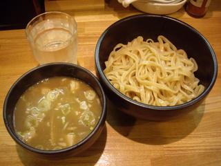づゅる麺豚あじ恵比寿神社前 つけ麺並盛り