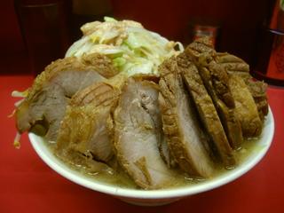ラーメン二郎 大宮店 豚Wラーメン
