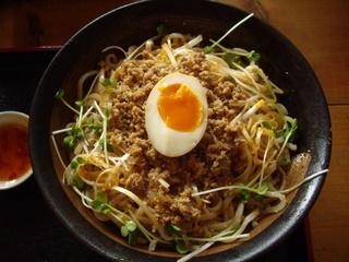 和風ラーメン凪 黒ごま担々麺(冷)