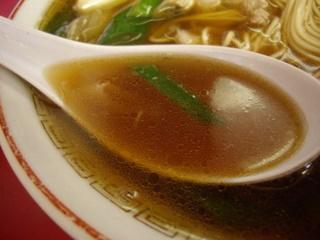 珍達そば 珍達そば(スープ)