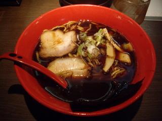 富山ブラック麺家いろは ブラックらーめん