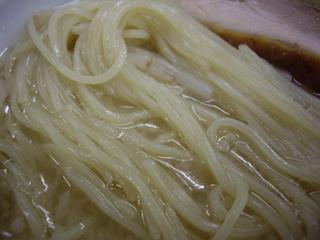 山手ラーメン本郷 安庵 ゆきラーメン(麺)