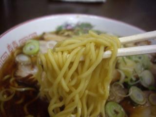 喜楽 チャーシューメン(麺)