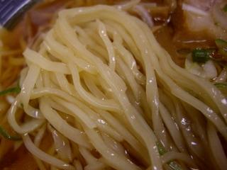 湯本ハイカラ中華 日清亭本店 ラーメン(麺)