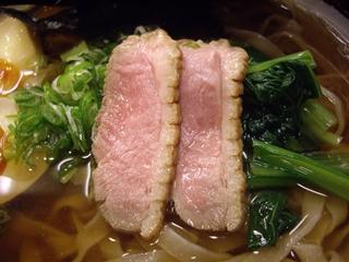 乙 麺造場 鴨出汁らーめん(鴨チャーシュー)