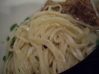 牛薫る麺処 嵐風 牛塩らぁ麺(麺)