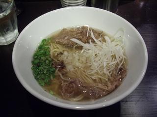 牛薫る麺処 嵐風 牛塩らぁ麺