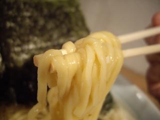 銀八商店 ラーメン並盛(麺)