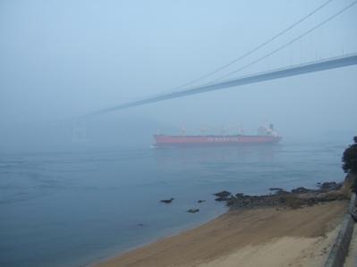朝の馬島からの風景