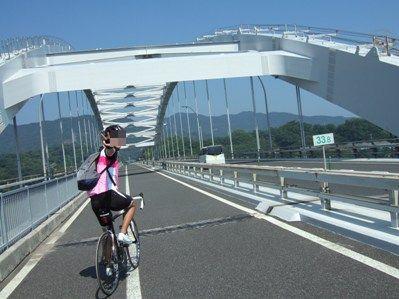 大三島橋帰路