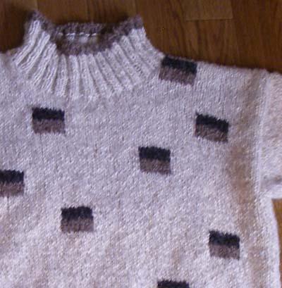 セーター部分