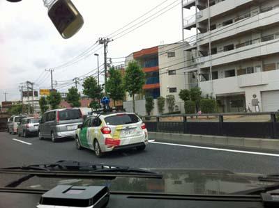 Googleストリートビュー撮影車1
