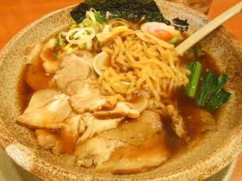 生姜醤油焼豚麺