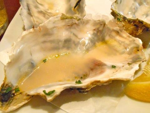 牡蠣鉄板焼き