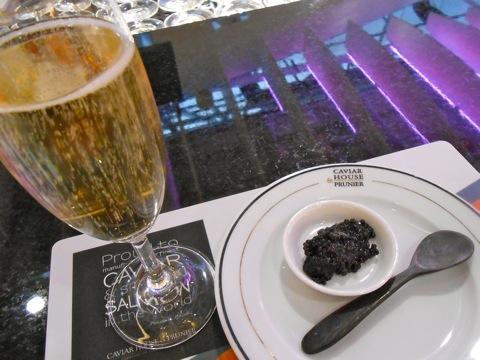 シャンパンとキャビア