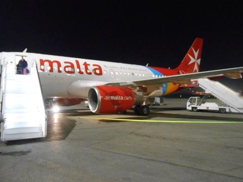 マルタ到着