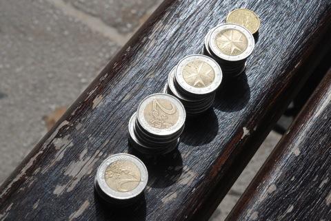 2ユーロ硬貨37枚!!