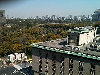 帝国ホテルからの眺め