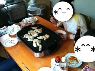 餃子パーティー♪