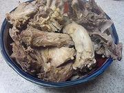 ワンコ手作りご飯 鶏がらスープ