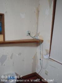 壁紙剥がした後2