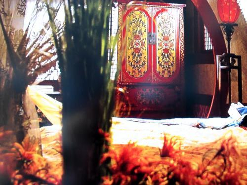 チョンミョンの寝室