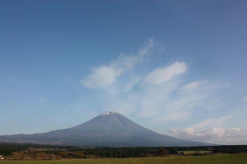 2011年11月の富士山