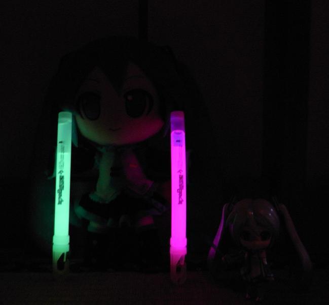 暗闇でドッキリ!?