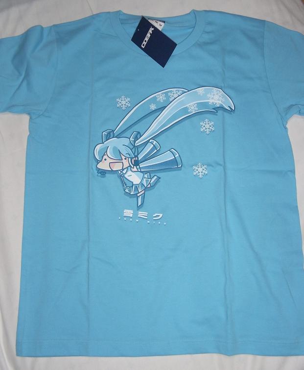 とりから雪ミクTシャツ