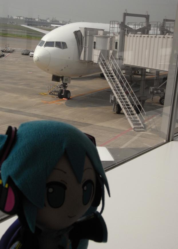 飛行機乗るよ!