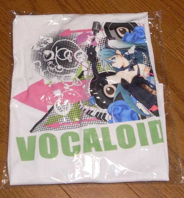 ミクさんTシャツ3