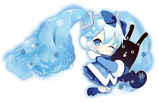 雪ミク2012Ver公式イラスト