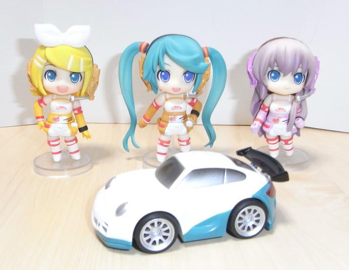 ねんぷちレーシングミクセット