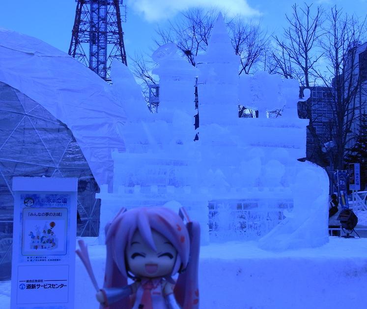 雪祭り 大通り公園3