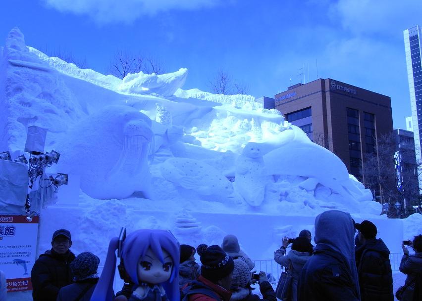 雪祭り 大通り公園6
