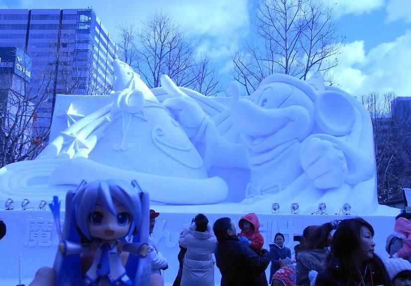 雪祭り 大通り公園7