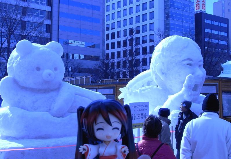 雪祭り 大通り公園10