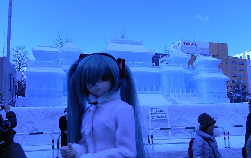 雪祭り 大通り公園11