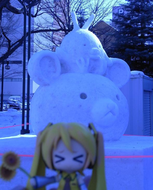雪祭り 大通り公園30