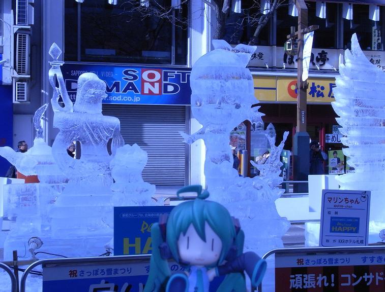 雪祭り すすきの会場5